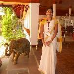 L'accueil du Elephant Court à Periyar