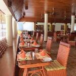 Le restaurant de l'Elephant Court à Periyar