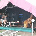 Families enjoying at Camp Exotica
