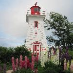 Lovely lighthouse in Victoria by the Sea