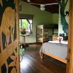 Cabins at Leaves and Lizards with amazing views of the Arenal Volcano!