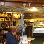 OakSide's cozy interior caters to all comers