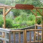 The Butterfly Garden Entrance