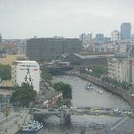 View of Berlin Friedrichstraße Station from the Reichstag