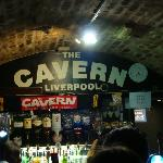 We ended at the Cavern Club.