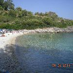 The good Kastri beach