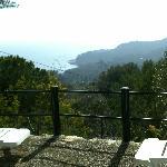 Esta es la panorámoica que se puede ver desde una de las habitaciones del hotel