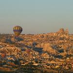 Ballon über Kappadokien
