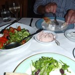 Some of the meze starters
