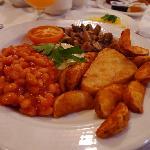 Vegetarian Irish Breakfast