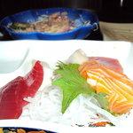 my fresh sashimi plate