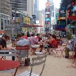 Picnic at Times Square