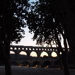 Pont du Gard by night
