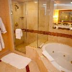The bathroom of the Palazzo Suite