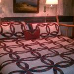 The Lake Room's King Size bed