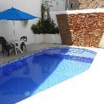 Nice relaxing pool.