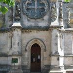 Entrance to Rosslyn Chapel
