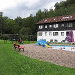 Hotel im Tannengrund - outside play area