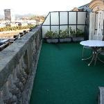 Terrace off suite