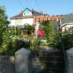 Front entrance & gardens