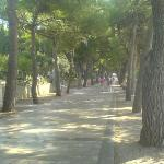 walking passeggiata