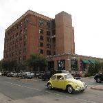 The former Texas School Book Depository, now the Sixth Floor Museum