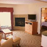All Suites include a full kitchen, living room, sofabed and 2 HDTV's