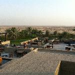 Great view from Al Sarab Rooftop Lounge
