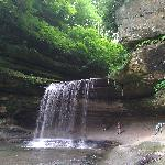 Waterfall at LaSalle Canyon