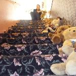 "L'escalier ""Teddy Bears"""