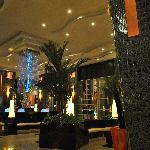 The very impressive lobby