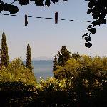 Вид на море из патио