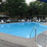 Nice sized heated pool