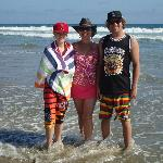 Newport Beach...beautiful beach, right across the street!!