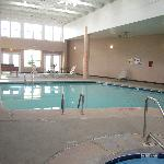 the pool area..hot tub was nice
