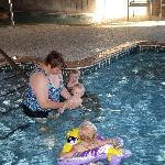 very warm pool