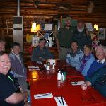 BrushBuck Guides and Guests enjoy a lunch like family!
