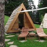 Our Glamping Hut at Camping Bled
