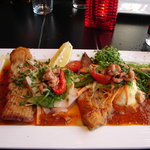 seafood trio (sea bass, skate, sole)