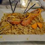 Lobster Pasta in Orange Sauce