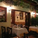 Part of the taverna