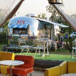 70's furniture & Airstream