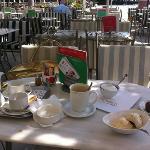 our Tea, cappuccino & ice-cream