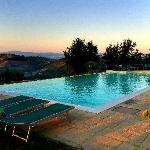 Zwembad met super uitzicht!