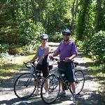 Cycling on The Cape Cod Rail Trail...so scenic!
