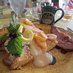 Each breakfast was very gourmet!!!
