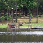 Oak Grove Lake Behind the B&B