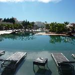 The main pool at Monte Santo Resort, Carveiro