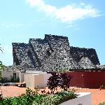 Highest Makuti roof in Zanzibar