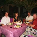Une superbe table d'hôte